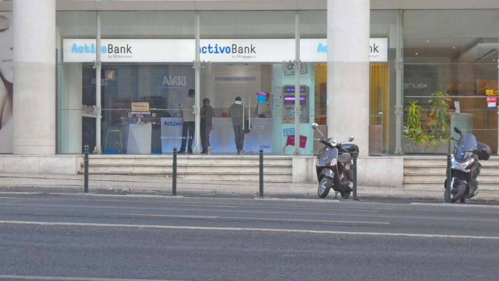 Balcão ActivoBank em portugal