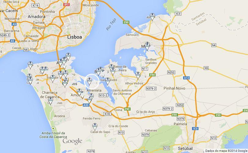 Banca por internet mi banco online for Mapa santander sucursales